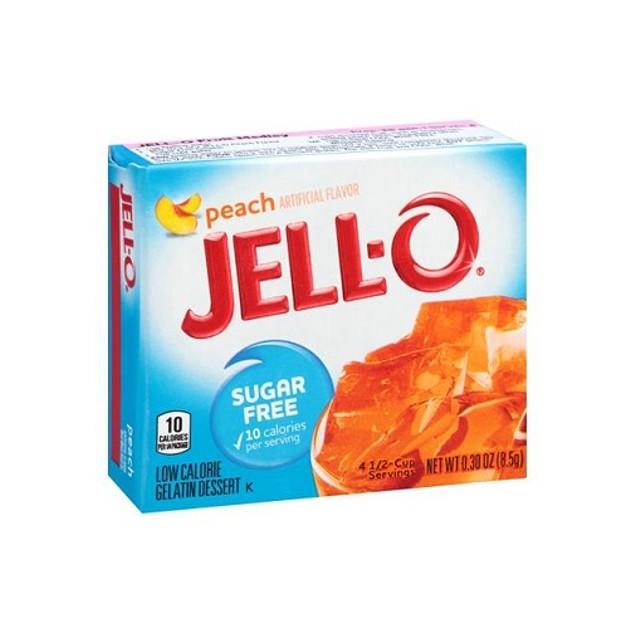 Jell-O Sugar Free Peach Gelatin Mix