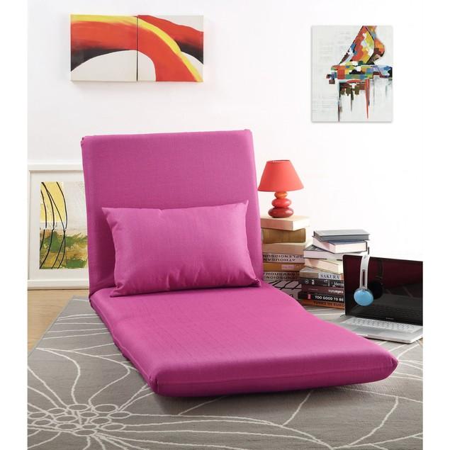 Loungie Relaxie Linen Flipchair - 5-Position Adjustable Back | Lounger
