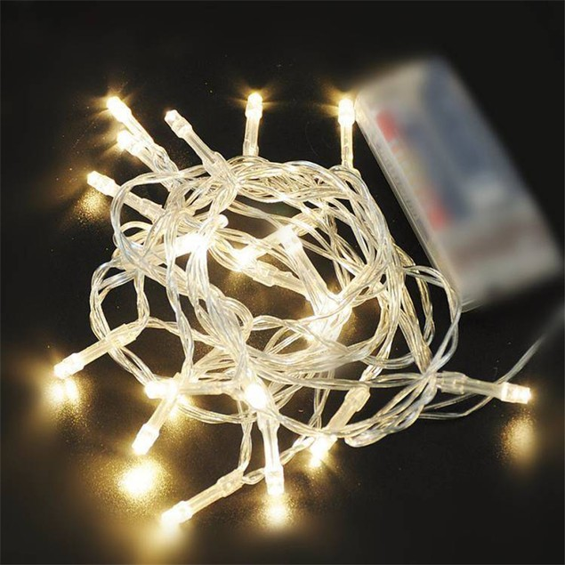 1M-10 LED Bulbs String Lights