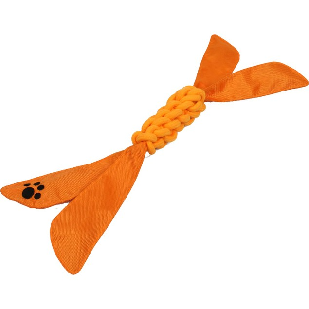 Extreme Twist' Squeek Pet Rope Toy