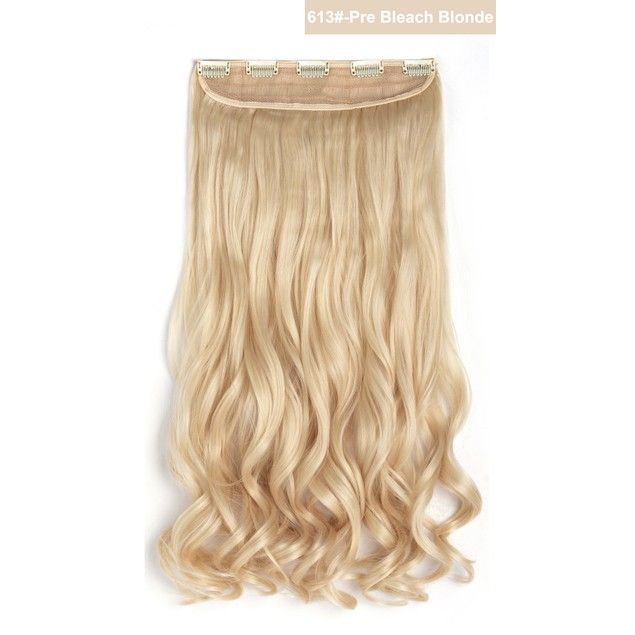 """20"""" Curly 3/4 Full Head One Piece Synthetic Hair Extensions"""