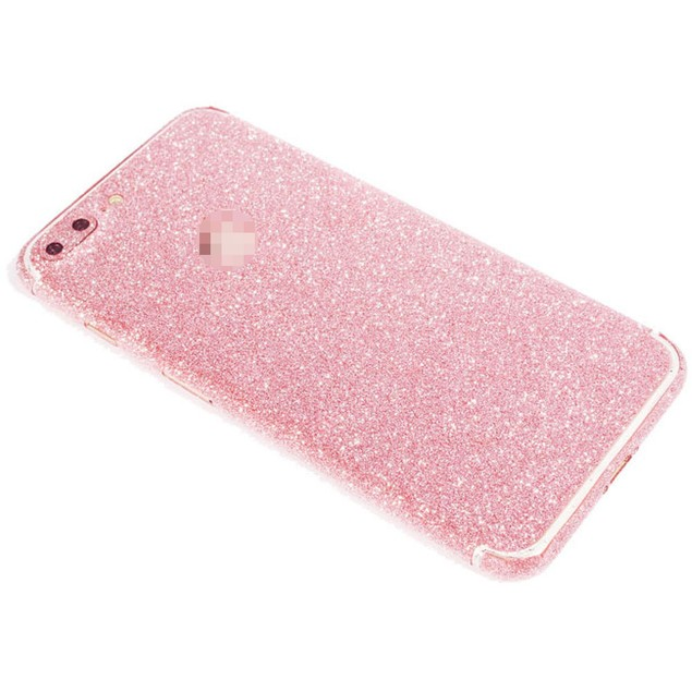 Full Body Wrap Decal Glitter Sticker Film For iPhone 7Plus 5.5Inch