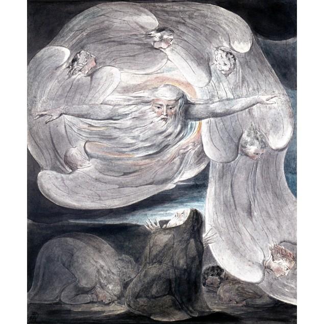 Blake: God Answers Job. /N'Job Confessing His Presumption To God Who Answer