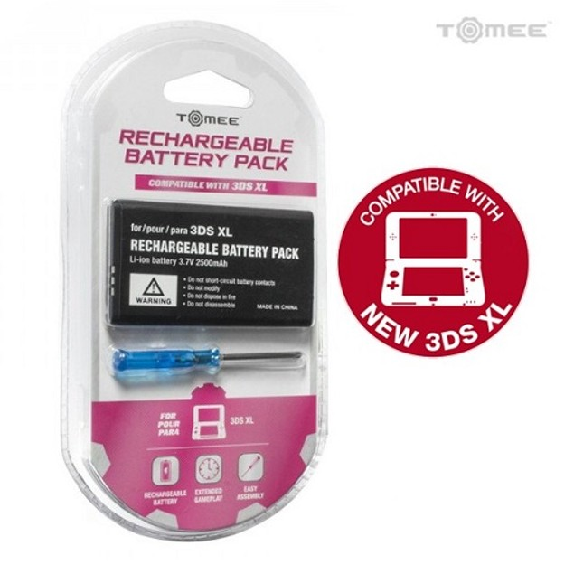 New 3DS XL/ 3DS XL Rechargeable Battery - Tomee