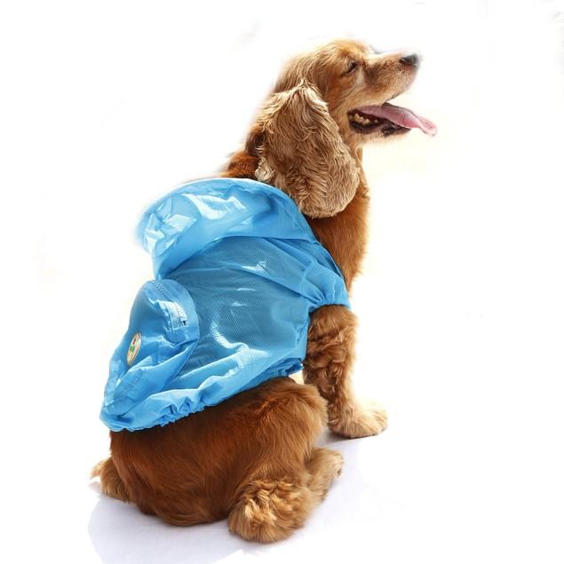 Ultimate Waterproof Thunder-Paw Adjustable Folding Travel Dog Raincoat