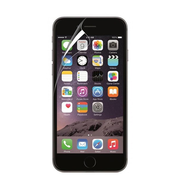 Front And Back Clear Film LCD Screen Protection For Iphone 6S 4.7 Inch