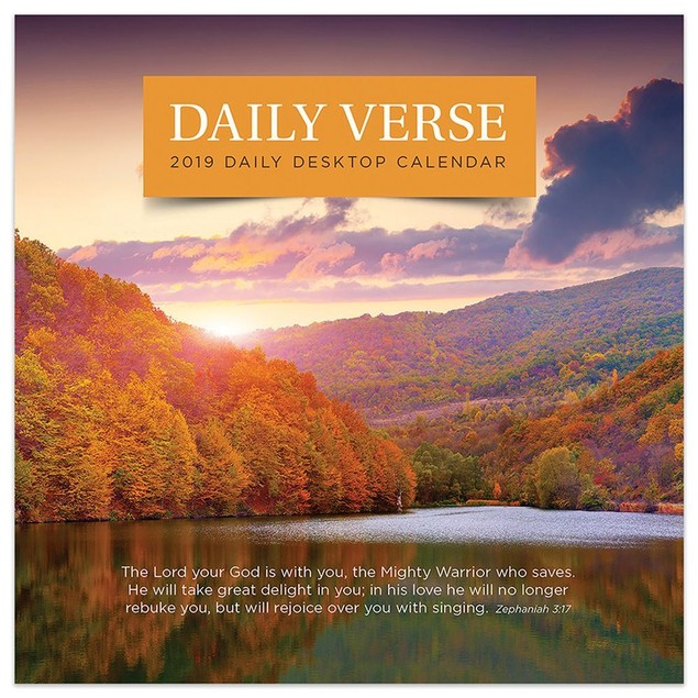 Daily Verse Desk Calendar, Bible by TF Publishing