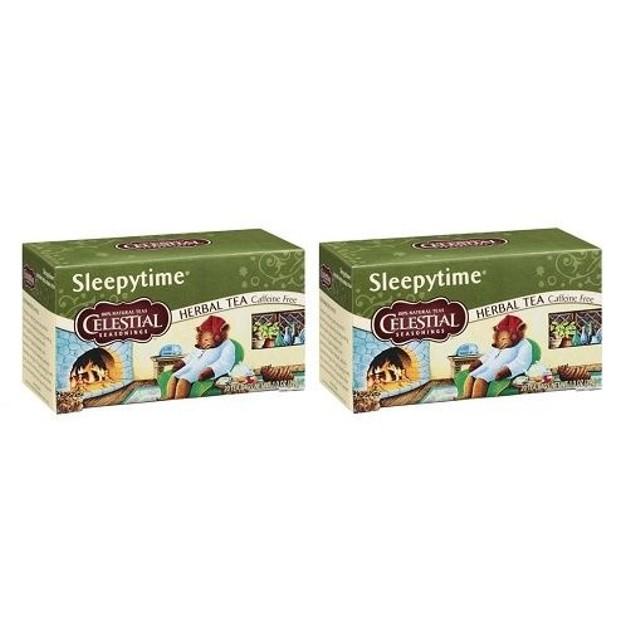 Celestial Seasonings Sleepytime Tea 2 Box Pack