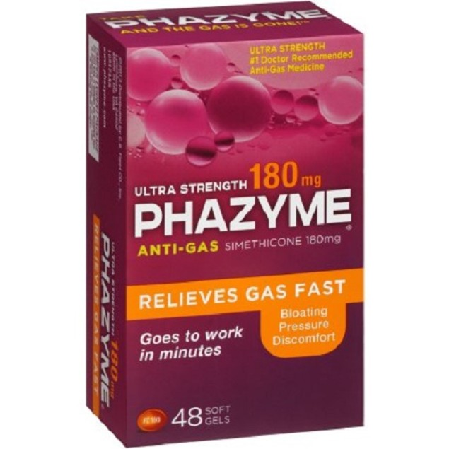 Phazyme Ultra Strength Gas Relief Soft Gels