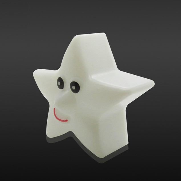 Changing Color LED Light Multi-Color Magic Novelty Star Smile Night Lamp