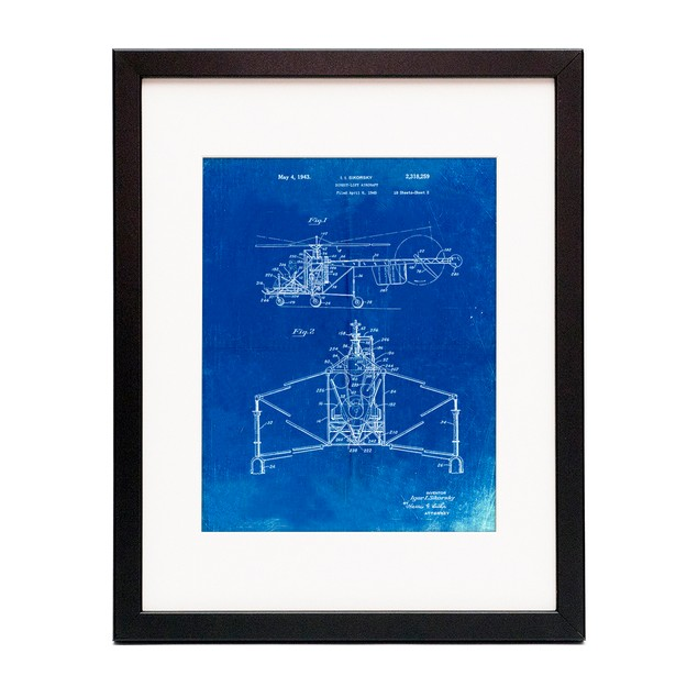 S-47 Helicopter Patent Poster