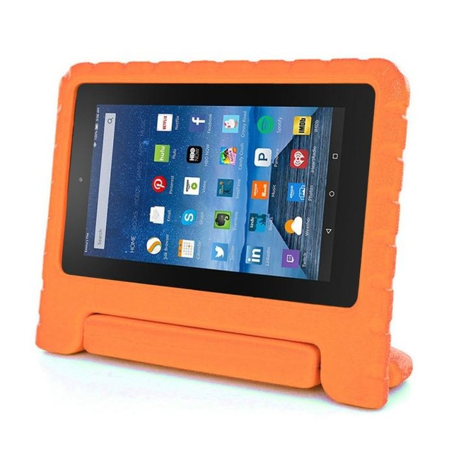 Kids Shock Proof EVA Handle Case Cover for Amazon Kindle Fire HD 7 2015