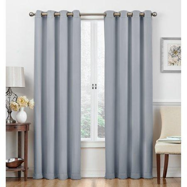Regal Home Cambridge Collection Blackout Grommet-Top Curtain Panels