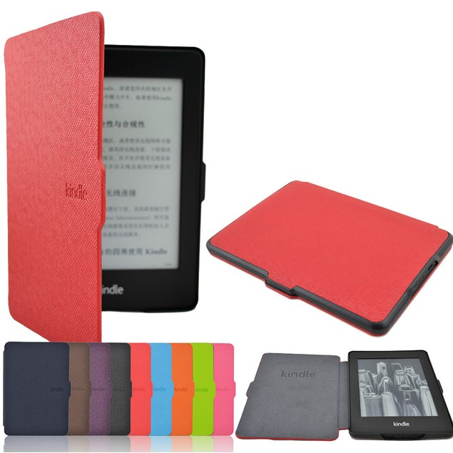 Ultra Slim Magnetic Case Cover For Kindle Paperwhite 1/2/3