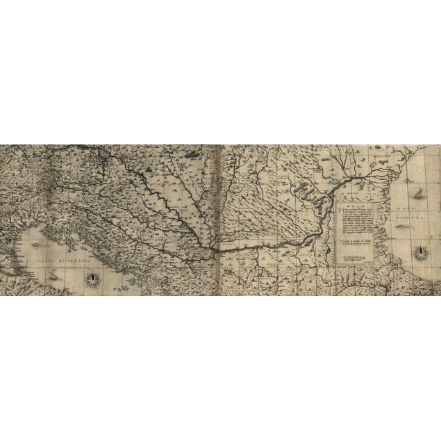 Il disegno particolore delle regioni che sono da Constantinopoli a Venetia,