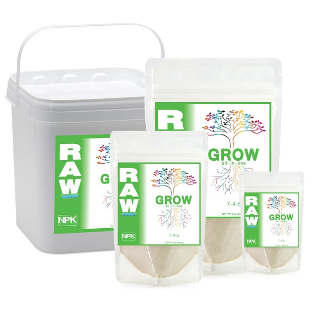 RAW GROW, 2 lbs