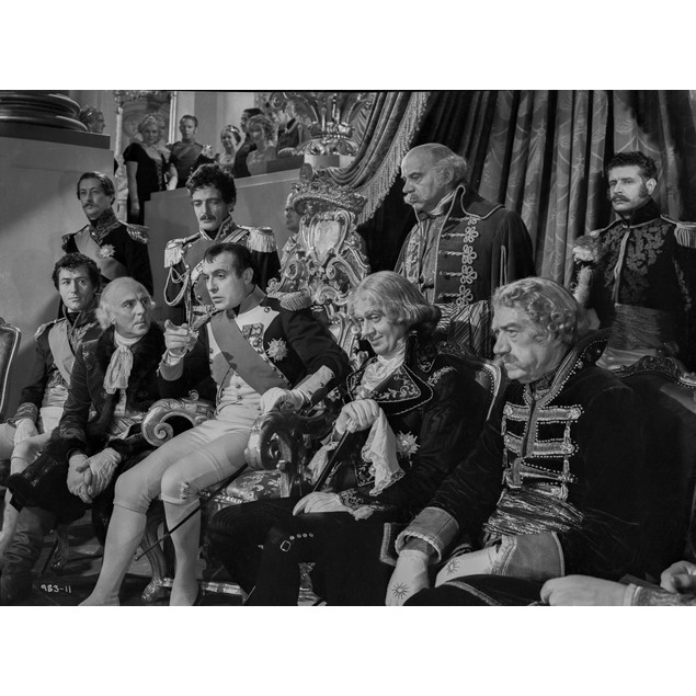 Greta Garbo Group Picture Movie Scene Poster