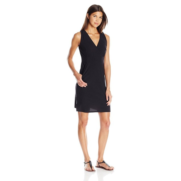 NWT Soybu Womens Carefree Dress, black, SIZE X-Small