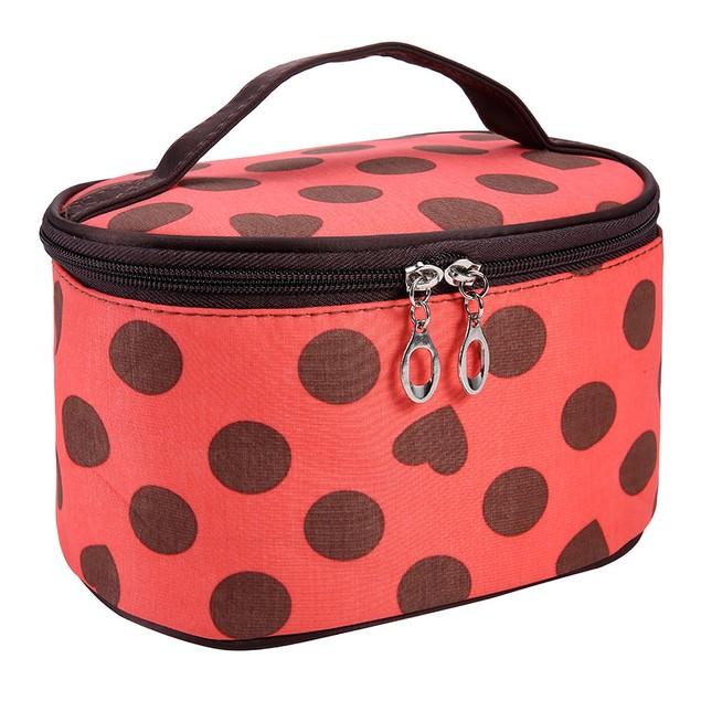 Dot Series Portable Cosmetic Bag