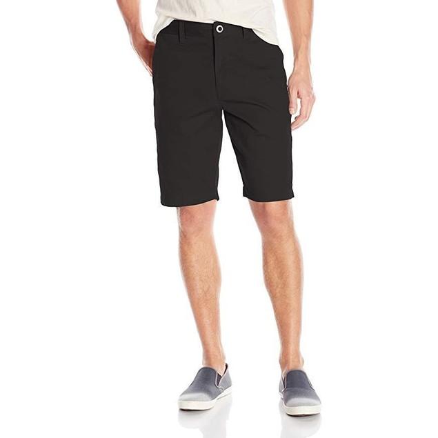 Volcom Men's Frickin Chino Short, Black, SZ:  33