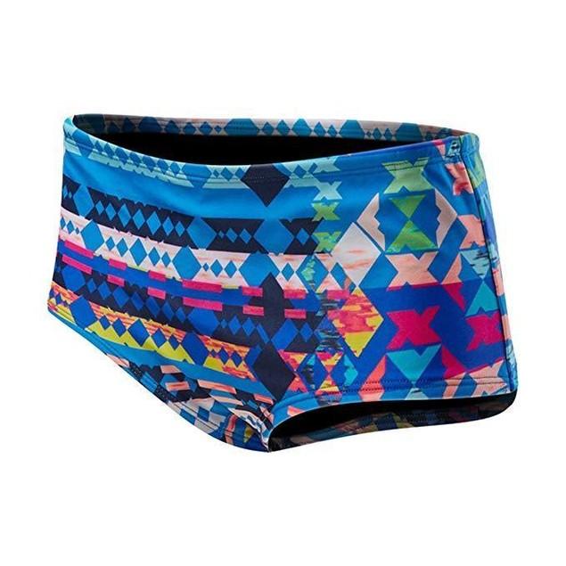 TYR Boca Chica Cheeky Shorts,  SZ Medium, Blue