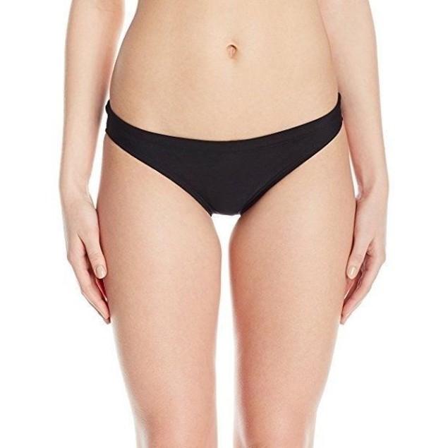 Speedo Women's Endurance Lite Solid Bikini Bottom, Speedo Black, SZ 14