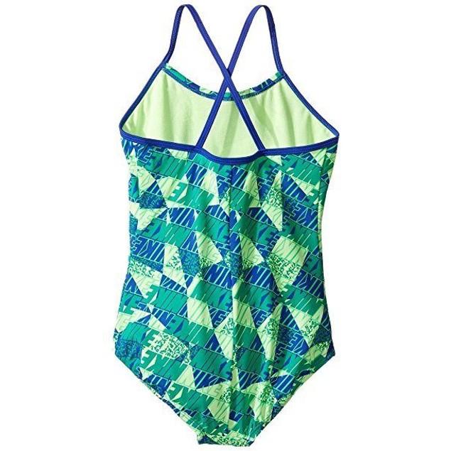 Nike Girl's Graphic Crossback Tank Swimsuit  SZ:10
