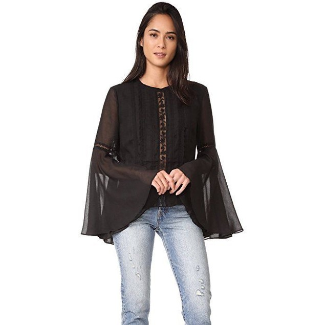 The Jetset Diaries Women's Amorie Top, Black, Small