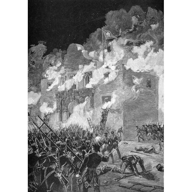 Texas: The Alamo, 1836. /Nthe Siege Of The Alamo, 23 February-6 March 1836.