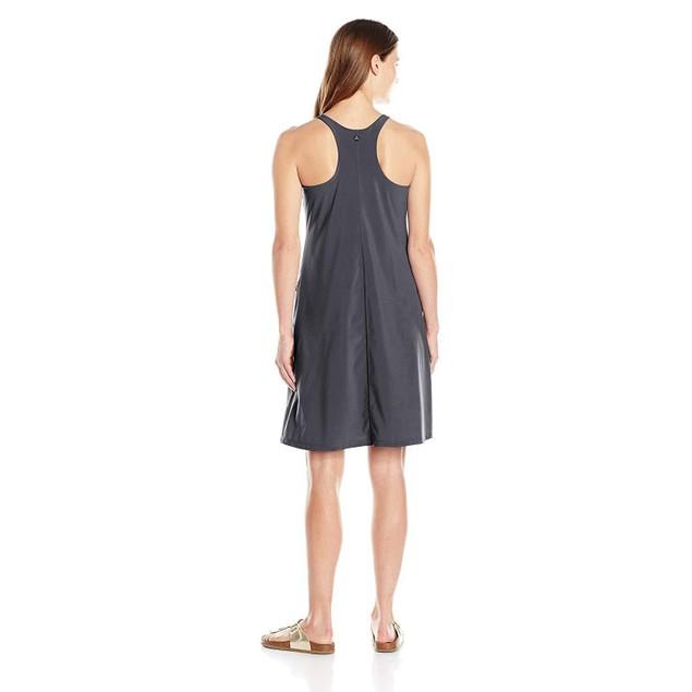 prAna Women's Barton Athletic Dress, Coal, SZ Large