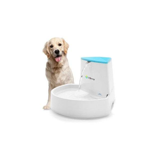 Automatic 2.5L Pet Water Drinking Filter Fountain Bowl Dogs Cats