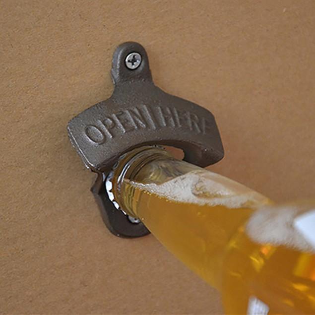 Wall Designed Bottle Opener