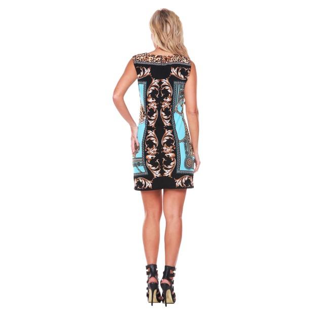 Venetian Printed Mini Dress - 5 Colors
