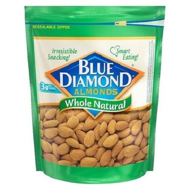 Blue Diamond Whole Natural Almonds 16 oz Bag