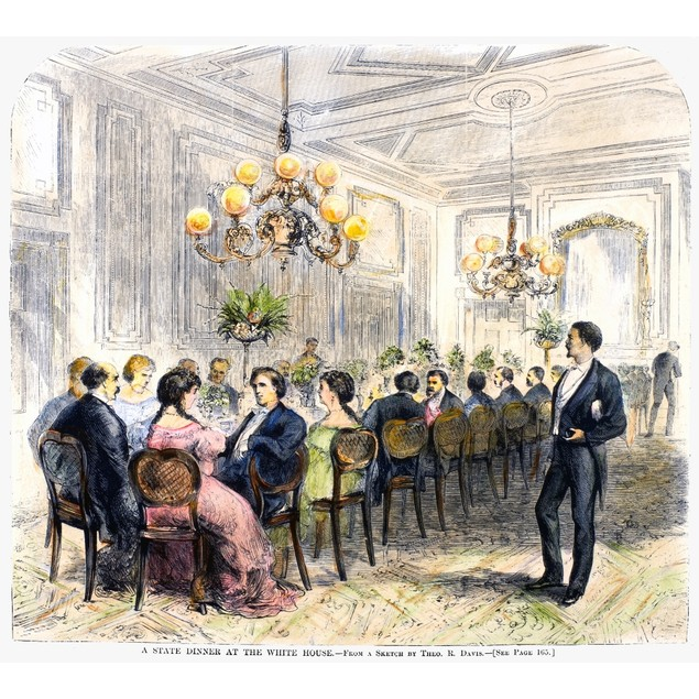 White House: State Dinner. /Na State Dinner At The White House, Washington,
