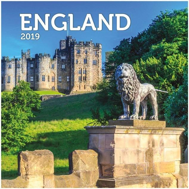 England Wall Calendar, England by Calendars