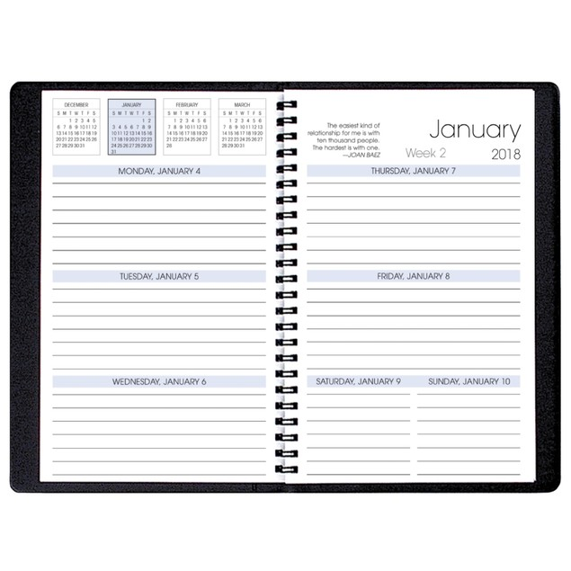 Shimmer TimeMaster Medium Softcover Weekly Planner