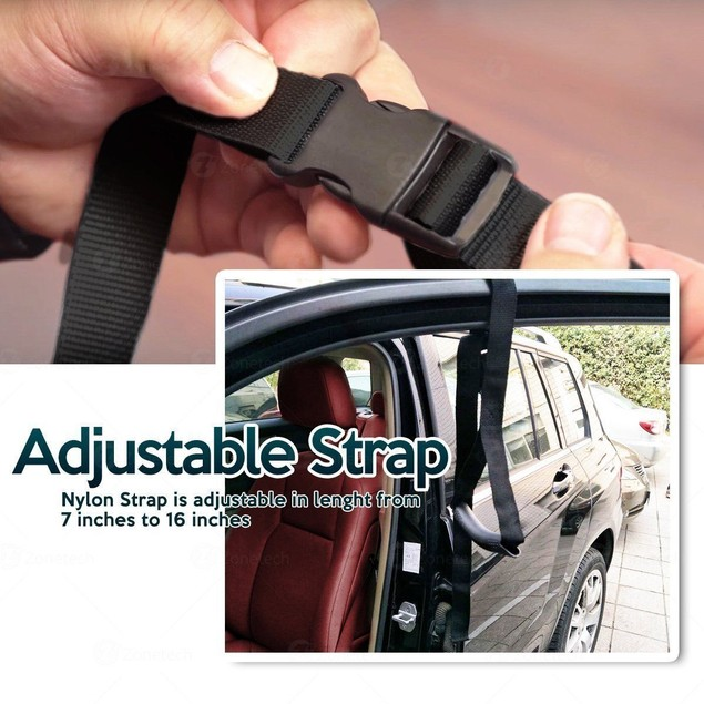 Zone Tech Auto Home Disability Elderly Support Handle Grip Standing Aid