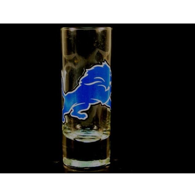 """Detroit Lions NFL """"Hype"""" Tall Shot Glass"""