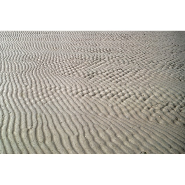 Galveston: Beach. /Nintersecting Lines In The Sand At Galveston, Texas. Pho