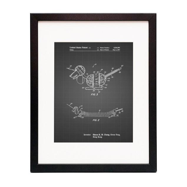 Slinky Dog Patent Poster