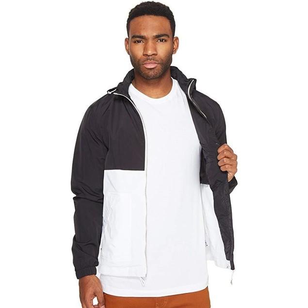 Penfield Men's Barnes Two-Tone Jacket Black Outerwear
