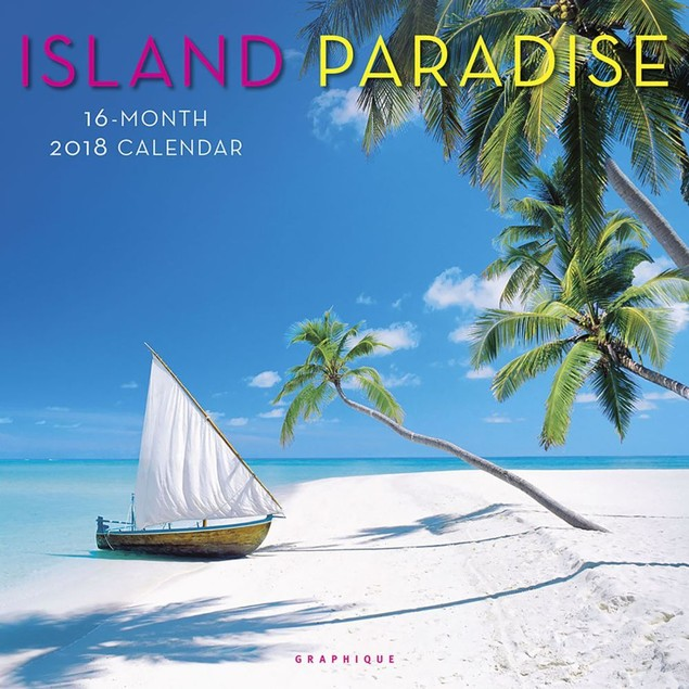 Island Paradise Wall Calendar, Beaches by Calendars