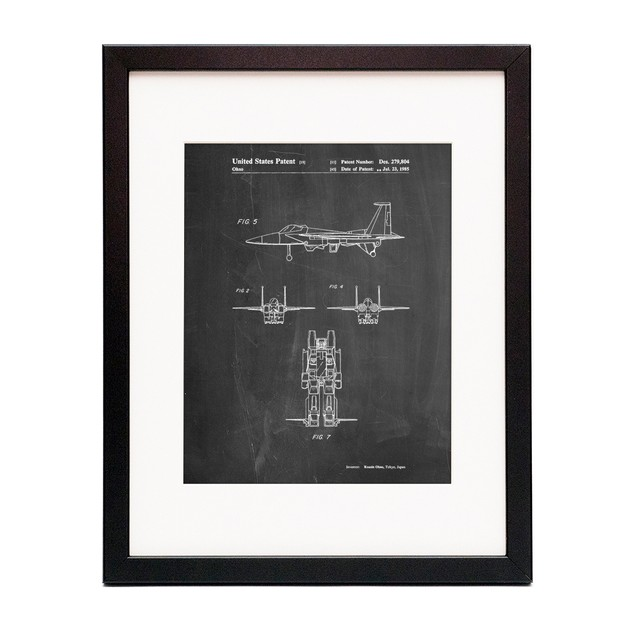 Starscream Patent Poster
