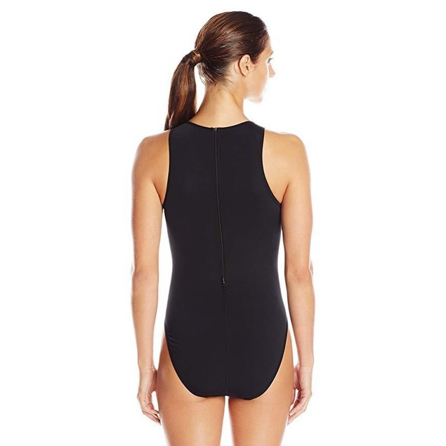 TYR 1WWD6A38 Women's Destroyer Water Polo, Black, Size 38