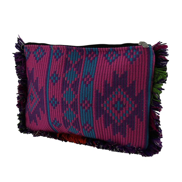 Pink Purple And Gold Sparkly Beaded Clutch Purse Womens Clutch Handbags