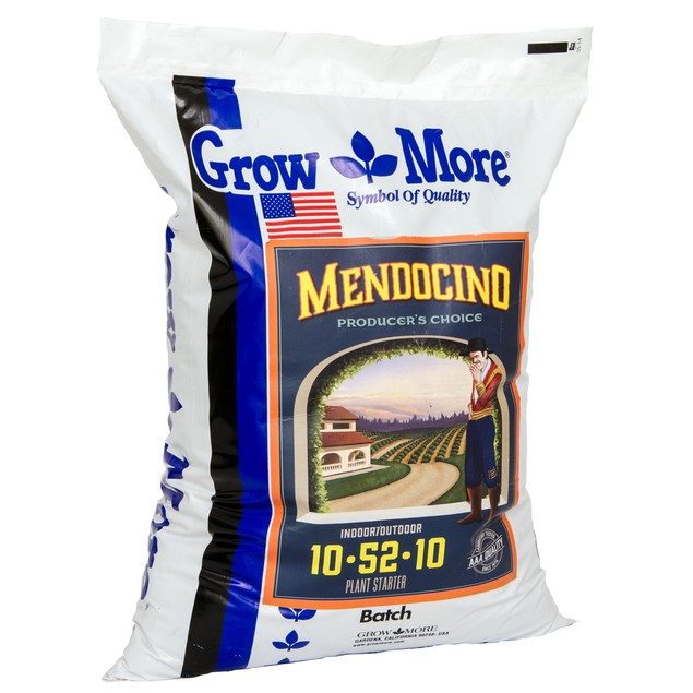 Grow More Mendo Soluble 10-52-10, 25 lbs
