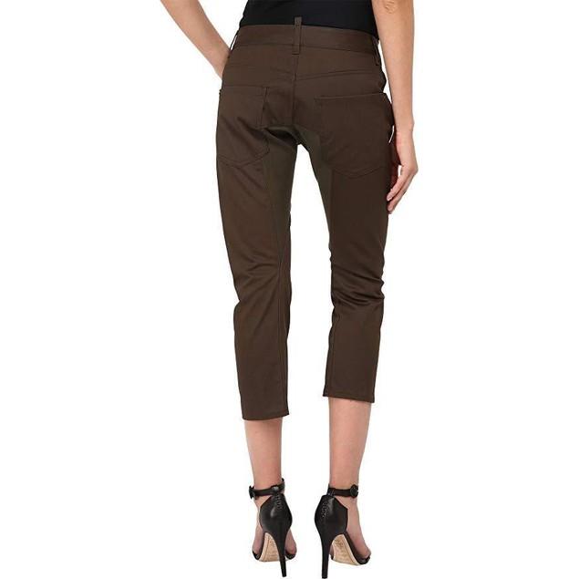 DSQUARED2 Women's Icon Anniversary Chino Pants Green 42