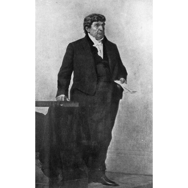 Lemuel Shaw (1781-1861). /Namerican Jurist. Painting Of Judge Shaw By Willi