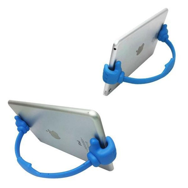Flexible Thumbs-Up Tablet and Phone Stand - 2 Pack